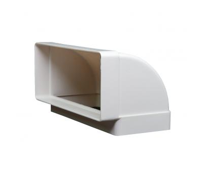 Kolanko płaskie pionowe Domus 220x90 mm kod 960