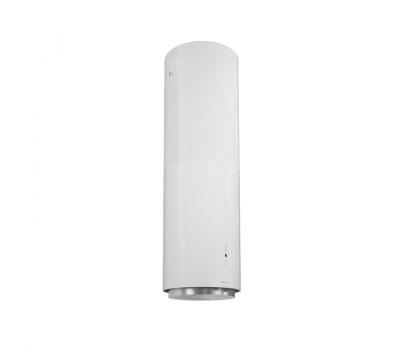 Okap wyspowy GLOBALO Cylindro Isola 39.4 White