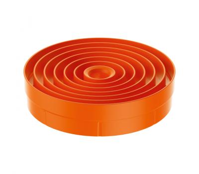 BORA Pure Dysza wlotowa w kolorze pomarańczowym PUEDO