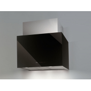 Okap przyścienny NODOR Cube Glass Black 700