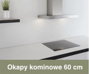Okapy kuchenne kominowe 60