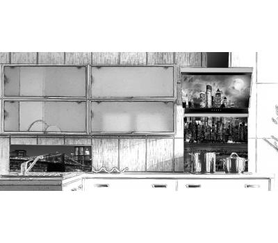 Okap przyścienny VDB Deco Manhattan 60 czarny