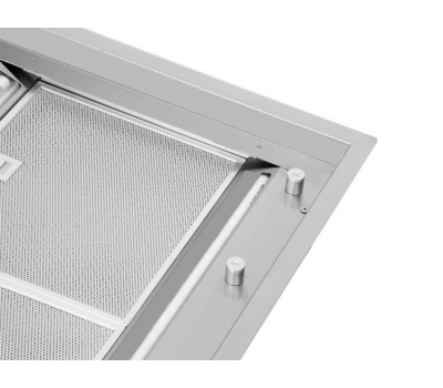 Okap sufitowy FALMEC Nuvola 90 inox z silnikiem poddaszowym o mocy 1300 m3/h