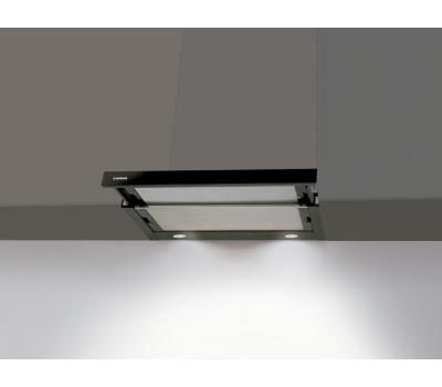 Okap teleskopowy NODOR Extender Black Glass 600
