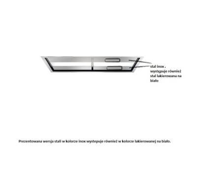 Okap sufitowy FALMEC Nuvola 140 z silnikiem zewnętrznym o mocy 1000 m3/h