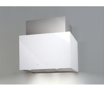 Okap przyścienny NODOR Cube Glass White 900