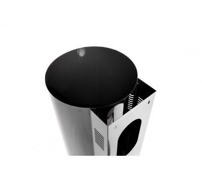 Okap przyścienny Toflesz Ok-4 BALTIC Czarny 700 m3h
