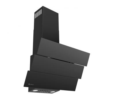 Okap przyścienny GLOBALO Divergo 60.1 Black Eko Max