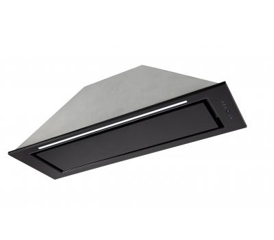 Okap do zabudowy Toflesz OK-6 Linea Glass Led Czarny 60 850 m3h