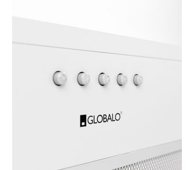 Okap do zabudowy GLOBALO Delico 50.1 White