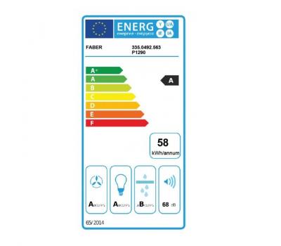 Okap wyspowy FABER CYLINDRA ISOLA GLOS PLUS EV8+ WH 37 klasa energetyczna
