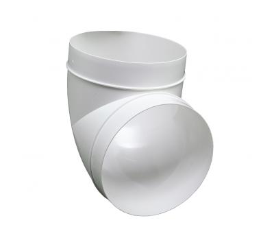 Kolanko okrągłe DOMUS 90° fi 12,5 cm kod 590