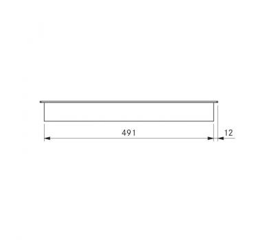BORA Classic indukcyjna ceramiczna płyta grzewcza CKFI Classic 2.0 - rysunek techniczny 2