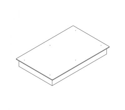 BORA Classic indukcyjna ceramiczna płyta grzewcza CKFI Classic 2.0 - rysunek techniczny 4