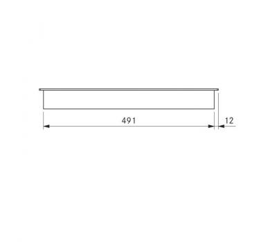 BORA Classic indukcyjna ceramiczna płyta grzewcza z dwoma polami grzewczymi CKI Classic 2.0 - rysunek techniczny 4