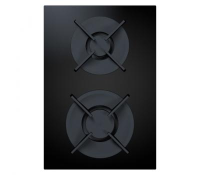 BORA Pro ceramiczna płyta grzewcza gazowa z dwoma polami grzewczymi PKG11