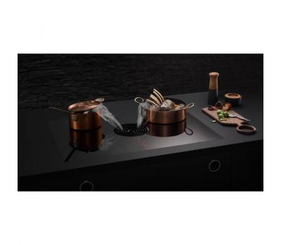 BORA Pure indukcyjna płyta grzewcza ze zintegrowanym wyciągiem oparów – Powietrze odprowadzane PURA - wizualizacja