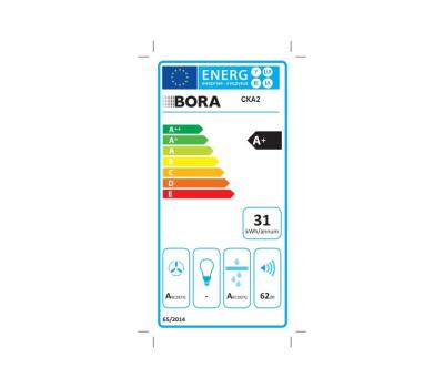 BORA Classic wyciąg oparów CKA2 Classic 2.0 - karta energetyczna