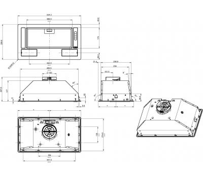 BHI611ES-rysunek techniczny