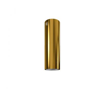 Okap wyspowy GLOBALO CYLINDRO ISOLA 39.4 GOLD