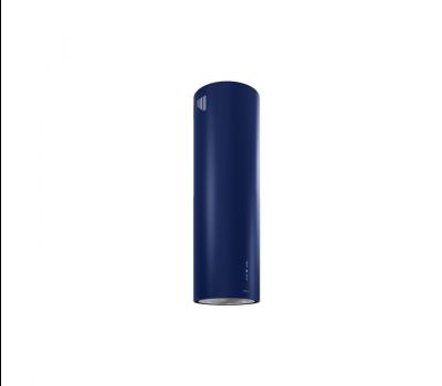 Okap wyspowy GLOBALO CYLINDRO ISOLA 39.4 BLUE