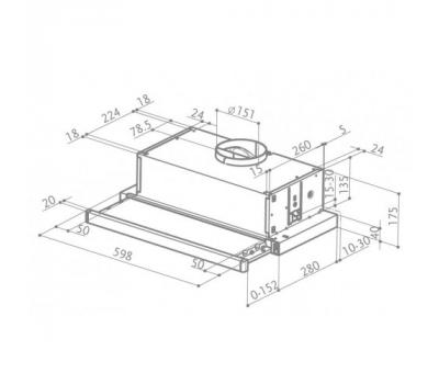 NK 24M1030IS-rysunek techniczny
