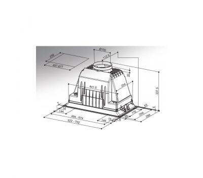 INKA PLUS HCS X 70 rysunek techniczny