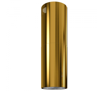 Okap wyspowy GLOBALO CYLINDRO ISOLA 39.5 GOLD