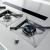 Okap blatowy FALMEC Down Draft 120 Black z silnikiem zewnętrznym 1000 m3/h